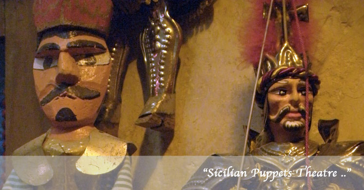 Sicilian puppets theater and tradition